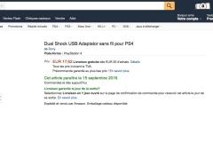 Adaptateur san fil PS4