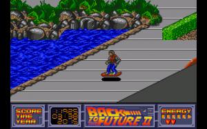 Dans cet opus, le joueur passe beaucoup de temps sur son hoverboard...