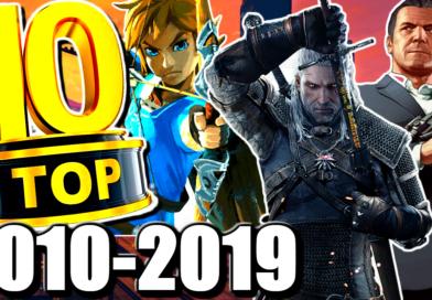 Mon TOP 10 des meilleurs jeux de la décennie 🤩